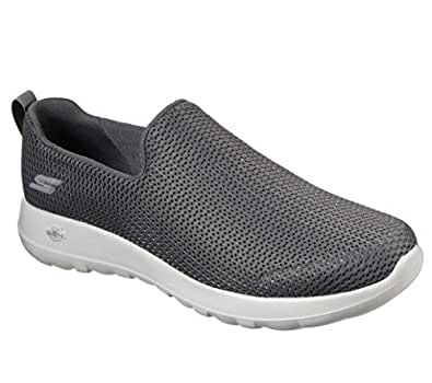 Skechers Mens - Go Walk Max Wide Grey Size: 7 XW US