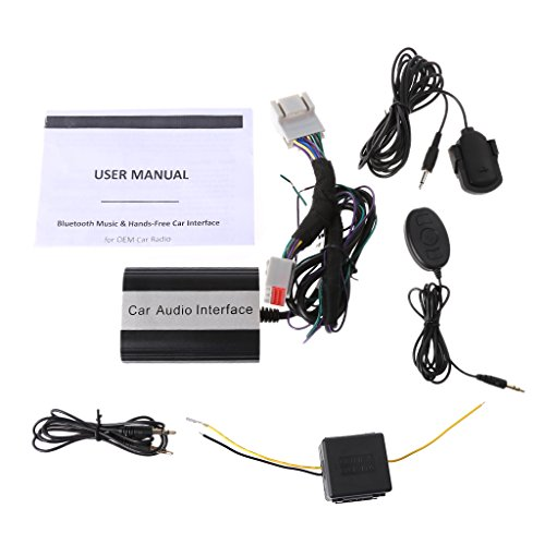 Numkuda Handsfree Car Bluetooth Kits MP3 AUX Adapter Interface For Ford Lincoln Mercury -