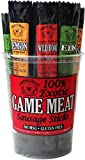 Buffalo Bills 100% Exotic Game Meat Sausage Sticks (mixed 1oz sticks - elk, venison and wild boar)