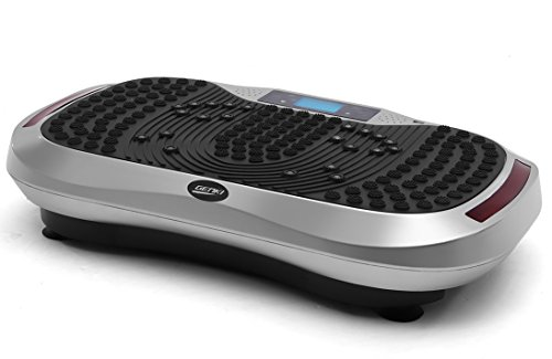 GENKI YD-1015S Vibration Platform Plate Whole Body Massager Machine Slim Exercise Fitness with Bluetooth MP3