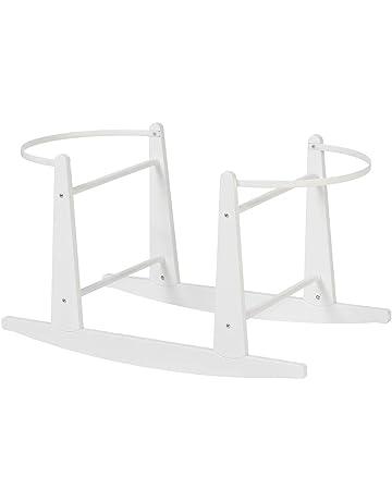 Shnuggle mecedora Mois/és Basket soporte Blanca