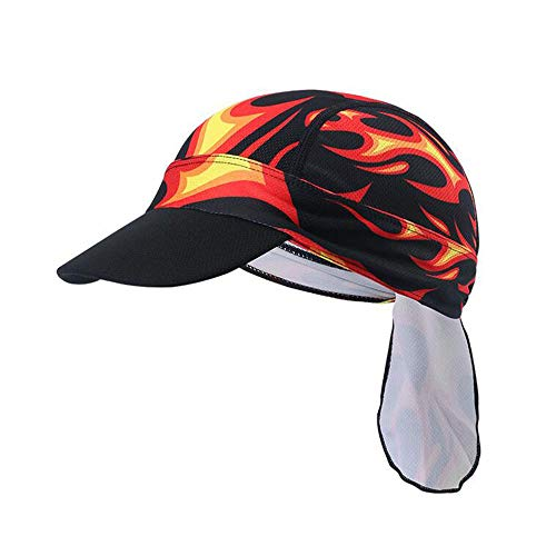 Newest Helmet Liner Skull Cap Beanie. Sweat Wicking Cooling Cycling Caps Unisex Sun Visor Adjustable Bandana Head Wrap for Sports (Color 5)