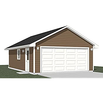 Amazon.com: Garage Plans: 2 Car Garage Plan 600-1 - 20' x 30' - two on two story plans, two car barn, homemade car plans, pedal car frame plans, breakfast bar plans, two car home designs, wet bar plans, 20 x 20 home plans, privacy fence plans, two car carport plans, breakfast nook plans, two car carriage house, two stall garage kits menards, driveway plans, two bedrooms plans, study plans, porch plans, 2 car carport building plans, bonus room plans, carport addition plans,