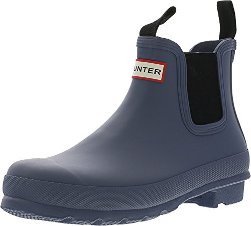 Hunter Women's Original Chelsea Rma Mineral Blue Ankle-High Rubber Rain Boot - 8M