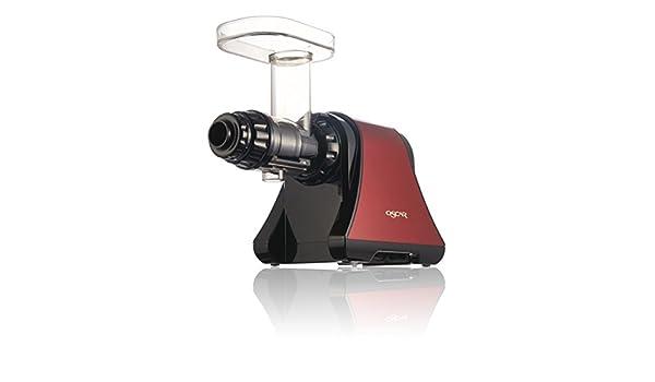Oscar de 1200-rojo Slow Juicer extractor de jugo a baja velocidad ...