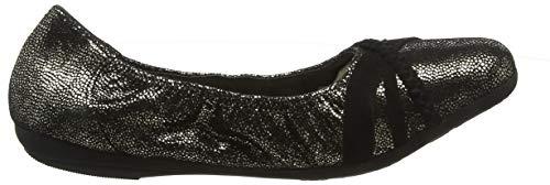 00247 Donna Grey cow Shoes Ballerine Janine Grigio Suede Marc Tqxtw8n0W