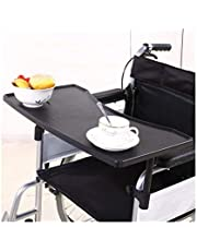 Wheelchair Lap Tray,Wheelchair Table with Drink Holder Removable Economy Standard Wheelchair Tray Accessory for Writing, Reading, and Eating