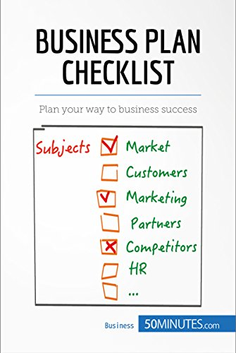 amazon com business plan checklist plan your way to business