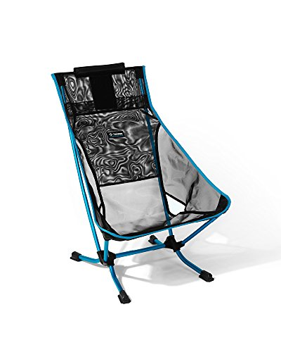 Helinox Beach Chair, Black Mesh