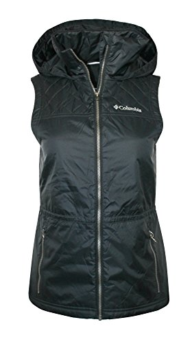 - COLUMBIA WOMEN'S CEDAR EXPRESS II FULL ZIP HOODED VEST (LARGE)