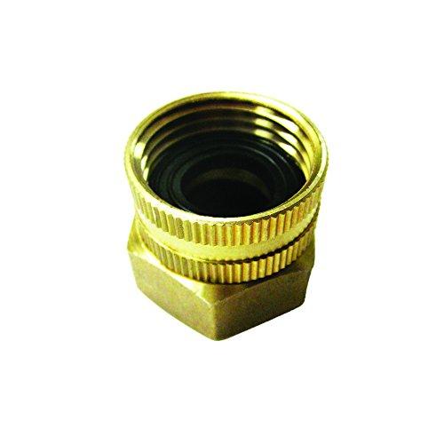 - Sun Joe SPX-BSC Dual Swivel Brass Connector, 3/4-Inch by 3/4-Inch