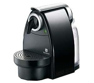 Nespresso Essenza YY1537FD Krups - Cafetera monodosis (19 bares, Automática y programable, Modo ahorro energía), Color negro