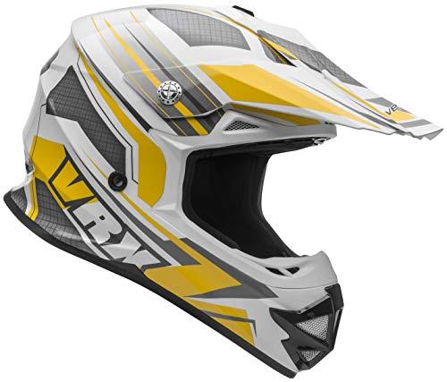 - Vega Helmets VRX Unisex Child Youth Off Road Helmet (Yellow Venom Graphic, LG)