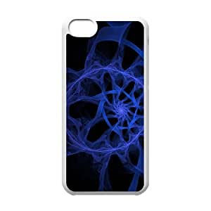 Blue Art iPhone 5c Cell Phone Case-White AMS0663460