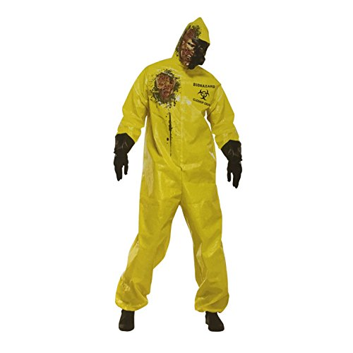 Zombie Costume - Scary Halloween Costumes for Adults - Biohazard Suit (Sexy Zombie Nurse Costume)