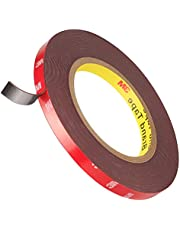 Heavy Duty Double Sided Mounting Tape, Emitiever Strong Adhesive 2 Sided Foam Tape No Residue For Outdoor Indoor Home Office Automotive Decoration, Wall Poster and LED Strip Lights, 32 Feet x 0.4 Inch