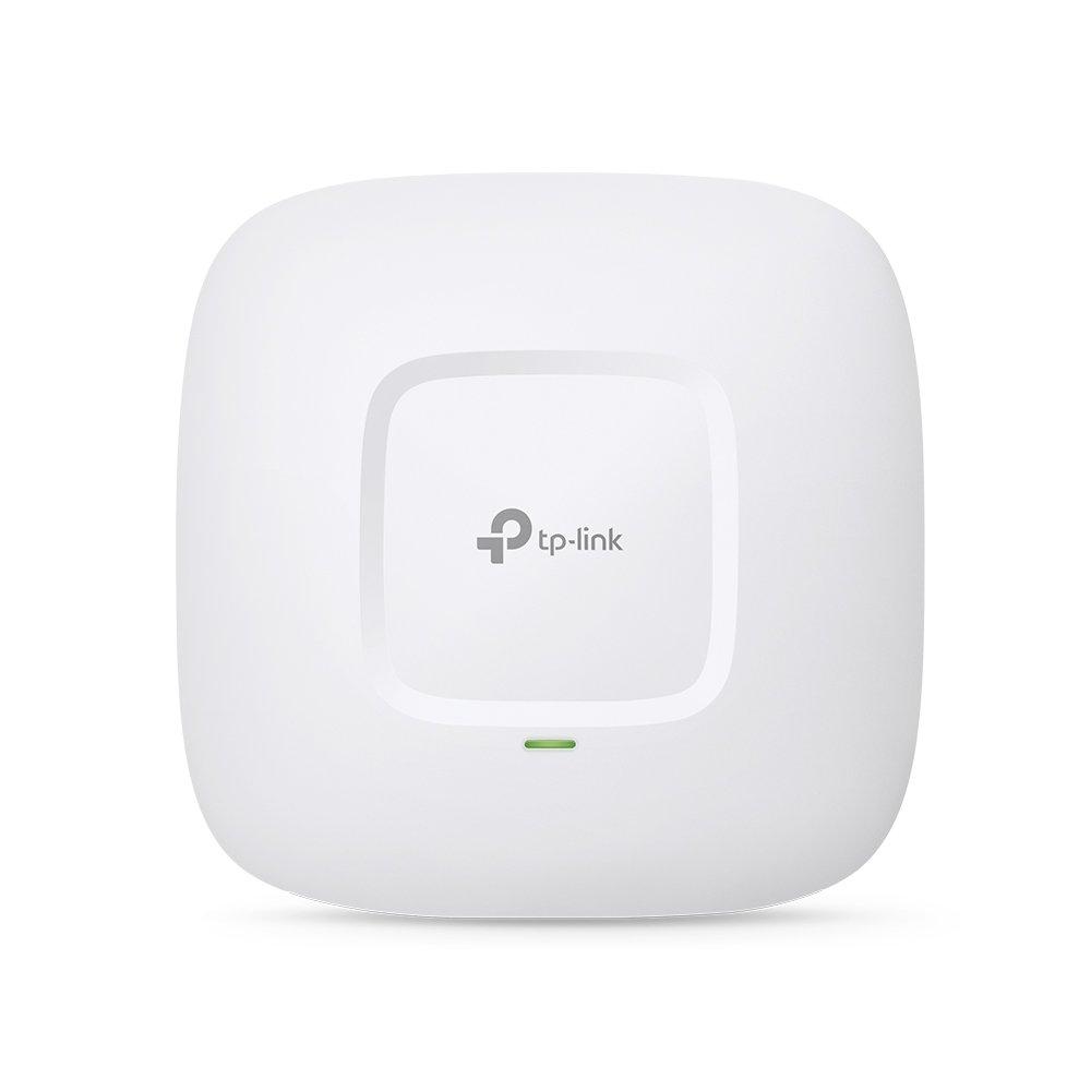 TP-Link EAP225 Point d'Accès Wi-Fi Double Bande AC 1350Mbps PoE Gigabit - Plafonnier (300Mbps en 2.4GHz + 867Mbps en 5GHz, 1 port Gigabit, Support PoE) by TP-Link