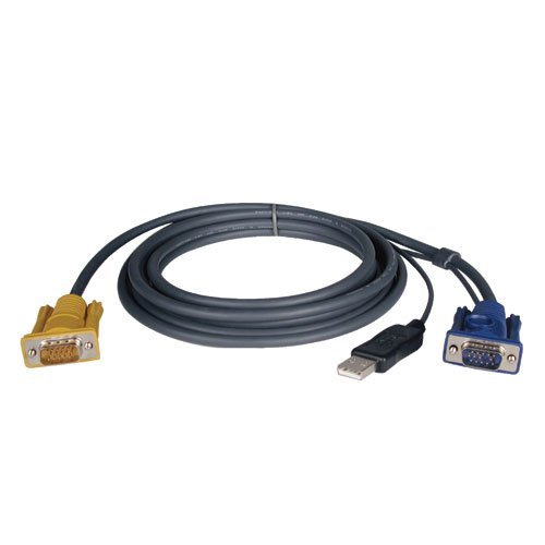 (Tripp Lite P776-010 KVM USB Cable Kit for B020/B022 Series Switches - 10ft by Tripp Lite)