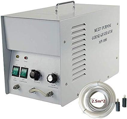 LIUQIGRASS Ozono Agua y purificador de Aire Comercial Ozono Generador 8G / H Industrial O3 Purificador de Aire Purificador de Aire Esterilizador de Agua Ambientador: Amazon.es: Hogar