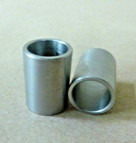 "Tall Stainless Steel Standoff/Spacer/Bushing 2Pc 1/2 ID X 5/8"" OD X 7/8"