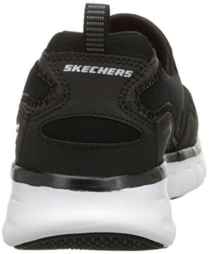 Skechers Sport Frauen Szene Stealer Mode Sneaker Schwarz-Weiss