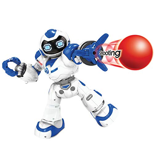 Kids Tech VA90022 Interactive Robot with Remote Control, Robot Can Sing, Dance, and Shoot A Ball Toy, Grab and Deliver Objects, Test Accuracy, Interactive Robot, Slow Walks, White by Kids Tech (Image #2)