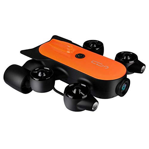 XIAOKEKE Underwater Photography Robot, 4K Lens 150 Meters Deep 120 ° Wide-Angle Motion, Underwater Drone, Suitable for…
