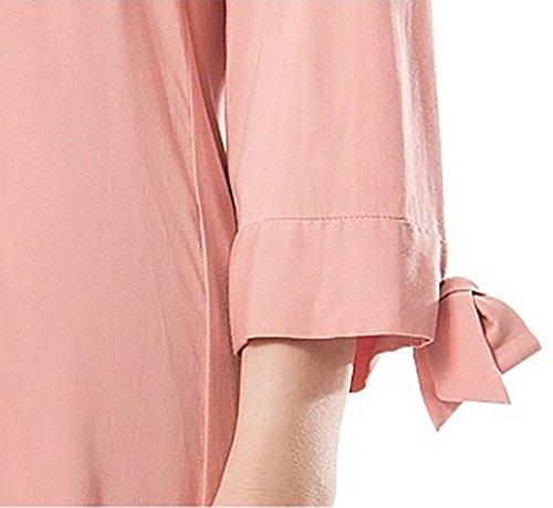 ZXMXY Pijamas de verano de las señoras camisón de algodón de las señoras pijamas lindos flojos pijamas ocasionales caseros del servicio de la casa (Color ...