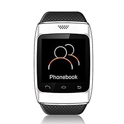 Upgraded New S12!!!CIYOYO Smart Watch Phone Mate With Bluetooth 3.0 for Apple iPhone 4S/5/5C/5S/6 and Samsung HTC Sony Huawei Xiaomi Android SmartPhone