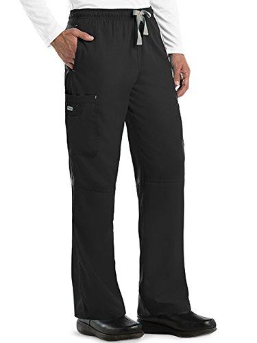Mens Cargo Scrub Pant (Grey's Anatomy Men's 0212 Modern Fit Cargo Scrub Pant)