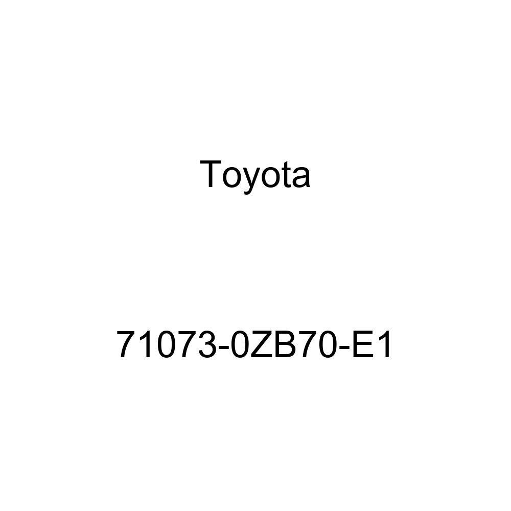 TOYOTA Genuine 71073-0ZB70-E1 Seat Back Cover