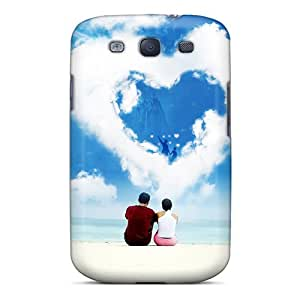 Faddish Phone Love Cases For Galaxy S3 / Perfect Cases Covers