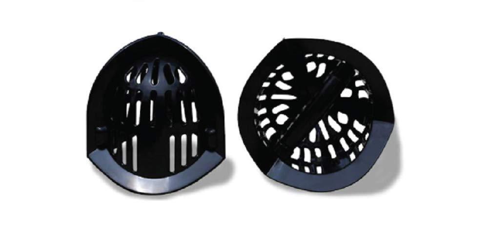 AquaLogix Black All Purpose Omni-Directional Aquatic Bells – Upper Body Pool Exercise Equipment – Includes Online…