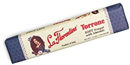 La Florentine - Traditional Italian Torrone [SOFT], (6)- 5.3 oz. Bars