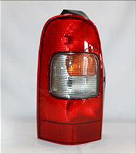 OE Replacement Tail Light Assembly CHEVROLET VENTURE 1997-2005 Multiple Manufacturers GM2800134N Partslink GM2800134