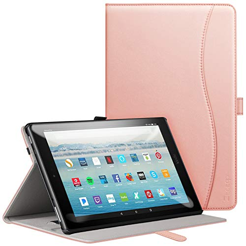 Ztotop for New iPad Pro12.9 Inch, [6 Magnetic Angles] Highly Protective & Shock Absorption Cover with Pencil Holder, Auto Wake/Sleep for iPad Pro12.9 inch, Red