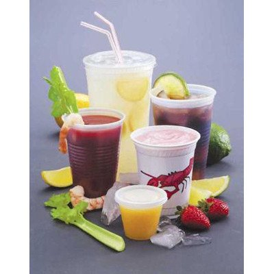 FABRI-KAL 10 Oz Drink Cups in Clear by Fabri-Kal