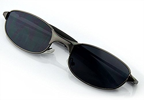 MDTEK@ Cool Outdoor Spy Sunglasses Rear Mirror View Rearview Behind Anti-tracking Monitor and look like an ordinary pair of sunglasses Black Edge by MDTEK