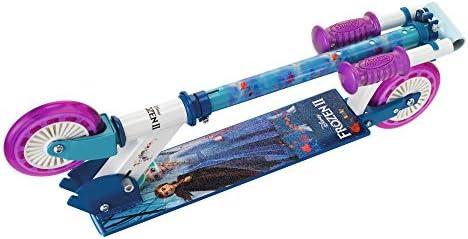 Smoby-Patinete 2 Ruedas Frozen 2 750363, Color Azul: Amazon ...