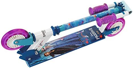 Smoby-Patinete 2 Ruedas Frozen 2 750363, Color Azul: Amazon ...