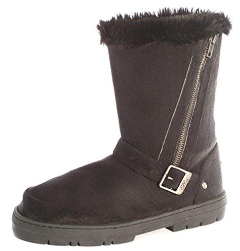 Ella Shoes Libby - Botas de Material Sintético Para Mujer Marrón Marrón VOL2SD