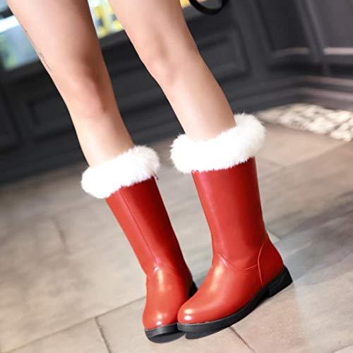 AGECC Schneeschuhe, Kurze Stiefel, Röhrenstiefel, Baumwollschuhe Für Studenten. B07JZXNJJM Tanzschuhe Verkauf neuer Produkte