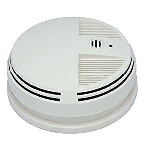 SG Home Night Vision Smoke Detector Wi-Fi (side view) - SG1545WF