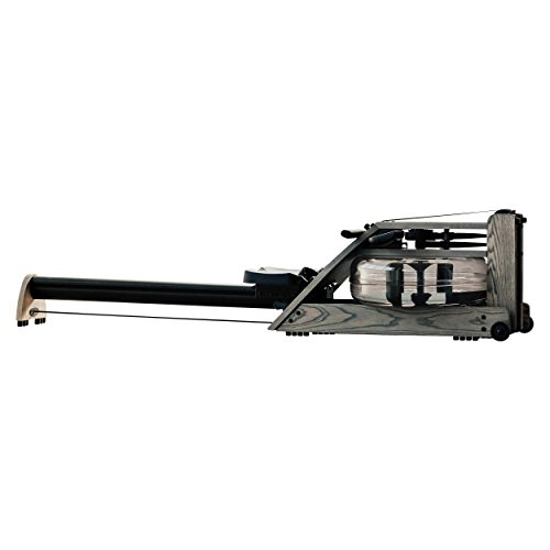 Water Rower Exercise Rowing Machine by WaterRower – A1 S4 Driftwood with Self-Regulating Resistance