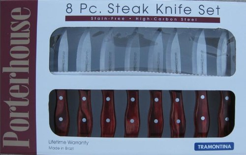 Tramontina Porterhouse Steak Knife Set