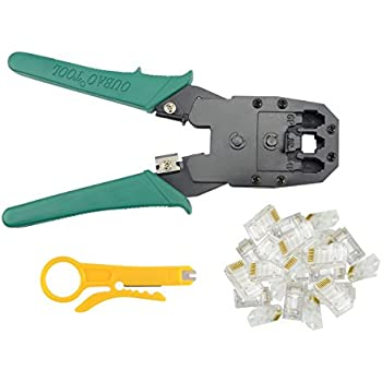 Amazon.com: BXQINLENX Professional Multi-function Wire Crimper ...