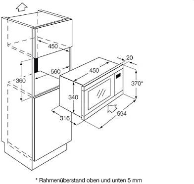 Zanussi ZM 176 X Microwave Oven, 592 x 316 x 370 mm, 1200 MB ...