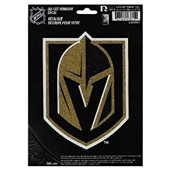 GLDCM7802 NHL Bling Die Cut Window Decal with Glitter Accent Rico Industries Inc