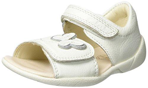 Clarks Baby Mädchen Kiani Sun Fst Lauflernschuhe Weiß (White Leather)