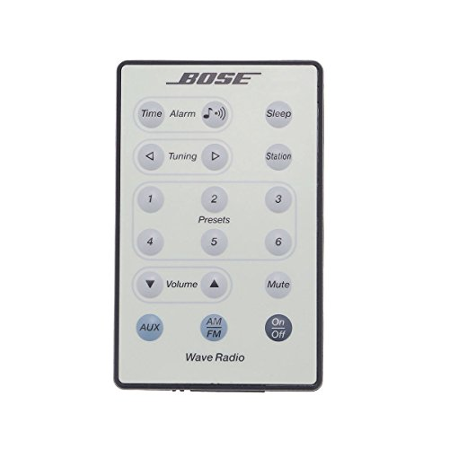 Bose Wave Radio Remote Control (White) - (189752-B10 / 189752B10 / RT189752B10) (Wave Radio Remote)
